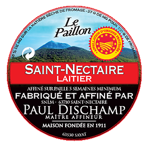Saint Nectaire AOP Laitier Paillon