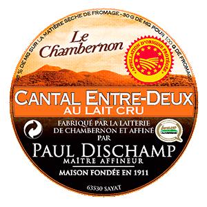 Cantal AOP Entre Deux au Lait Cru Chambernon