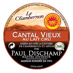 Cantal PDO Vieux au Lait Cru